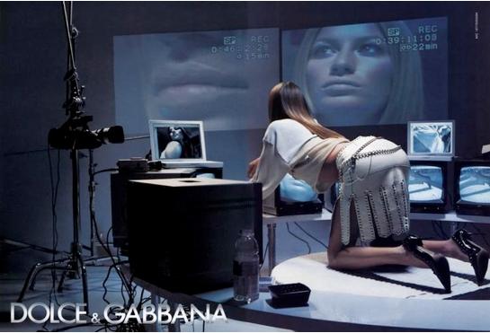 Dolce and Gabbana SS 2003