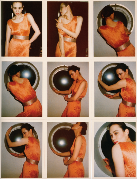 Tina Chow, 1971. CREDIT: Photographs by Antonio Lopez. © Copyright The Estate of Antonio Lopez and Juan Ramos, 2012. From Antonio Lopez 1970: Sex Fashion & Disco directed by James Crump. Used by permission.