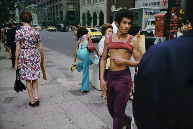 New York City, 1974. Courtesy and Copyright of Joel Meyerowitz
