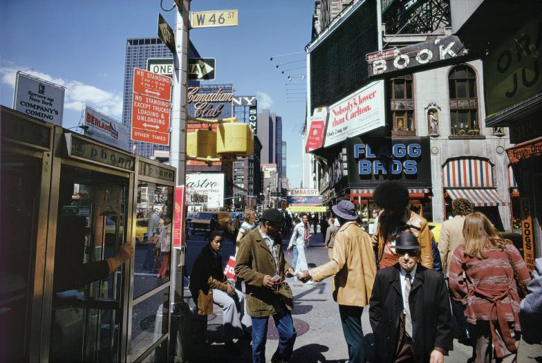 New York City, 1976. Courtesy and Copyright of Joel Meyerowitz
