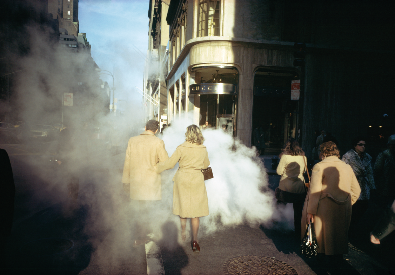 New York City, 1975. Courtesy and Copyright of Joel Meyerowitz