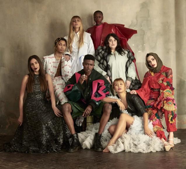 Graduate Fashion Week campaign