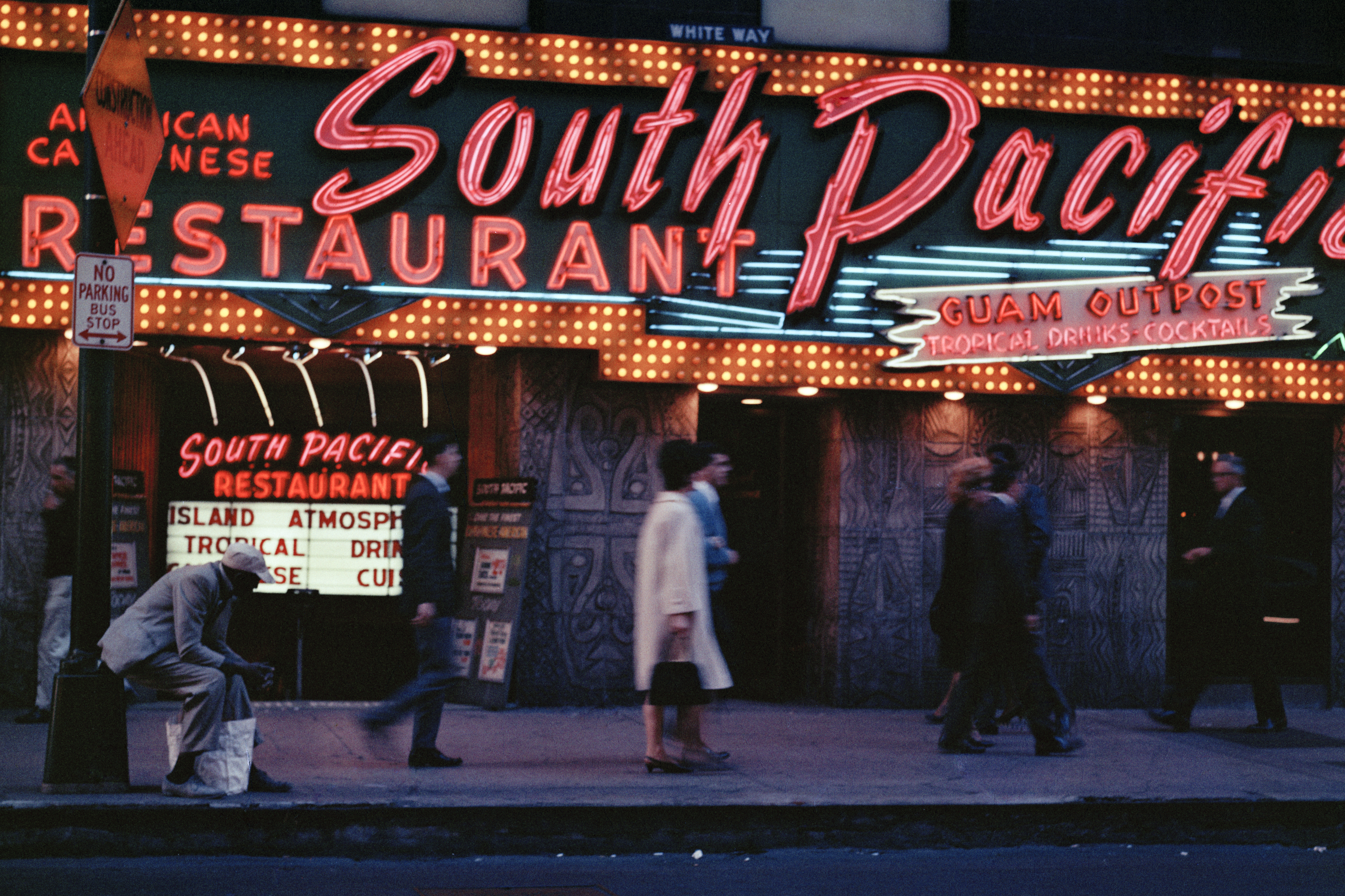 © Mario Carnicelli 'South Pacific Restaurant, Chicago, 1966'