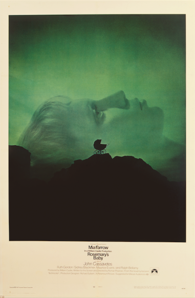 Original US theatrical poster for Rosemary's Baby