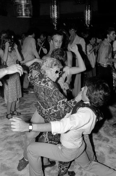 Disco Sally by Allan Tannebaum
