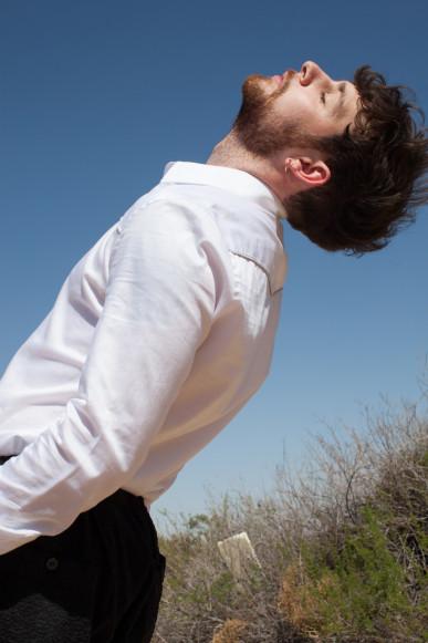 Vanity Slim Fit Piped Shirt / REISS // Black Harem Pants / ALEXANDER WANG